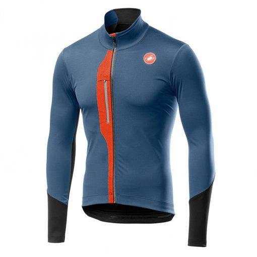 Castelli Men's Transparente V Long Sleeve Cycling Jersey - Light Steel Blue - A19509062