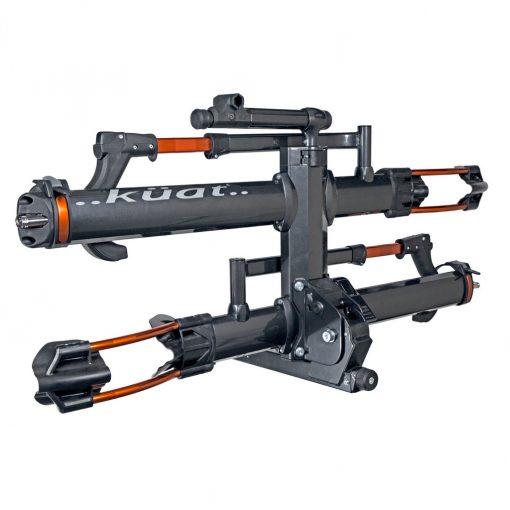 Kuat Nv 2.0 Hitch Mounted Bike Rack 2 Bikes 1-1/4 Gun Metal Grey - NV12G