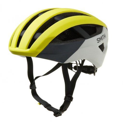 Smith Men's Network Cycling Helmet - Matte Neon Yellow Viz - E0073204G