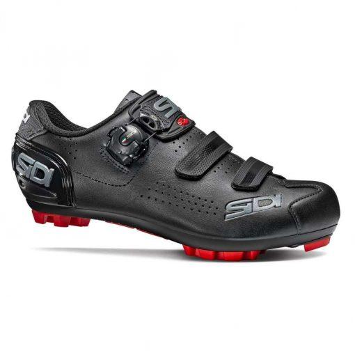 Sidi Men's MTB Trace 2 MEGA Cycling Shoes - BLACK/BLACK - SMS-T2M-BKBK