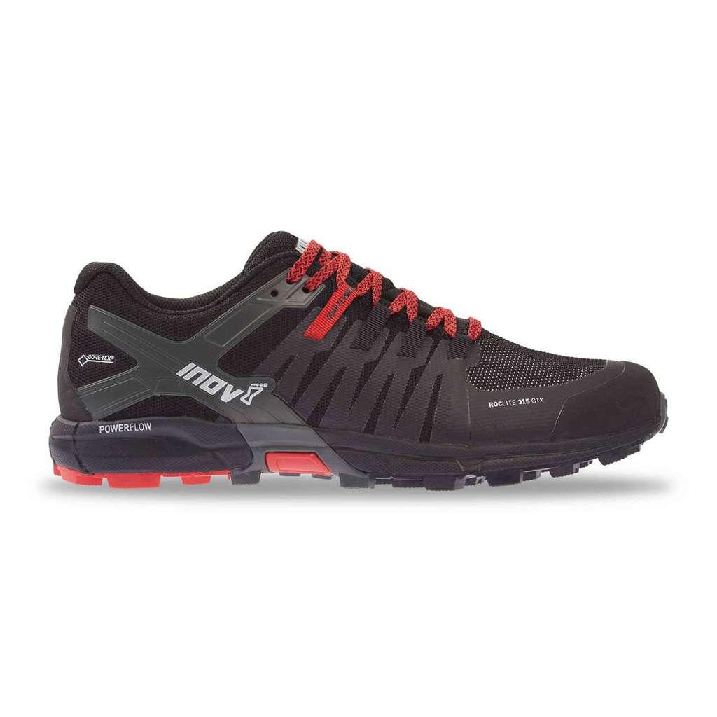 Inov-8 Men's Roclite 315 GTX Trail Running Shoe - Black/Red - 000719-BKRD-M-01