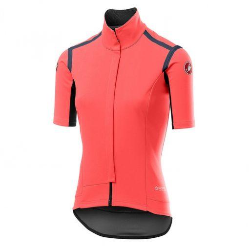 Castelli Women's Gabba Ros Short Sleeve Cycling Jersey - Brilliant Pink - B19536288