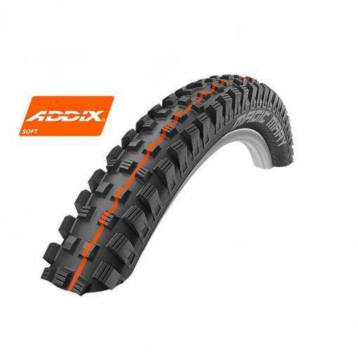 Schwalbe Magic Mary Evo HS447 Addix Soft Super Gravity TL Easy Bicycle Tire - Folding