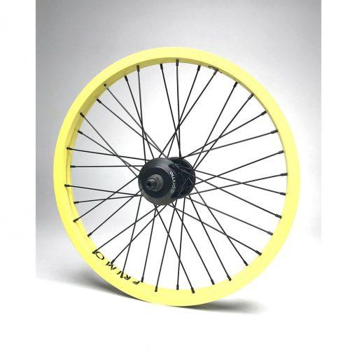 Primo VS Balance Cassette Rear Wheel - Yellow/Black