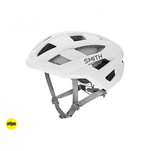 Smith Men's Route MIPS Cycling Helmet - Matte White - E007187KM