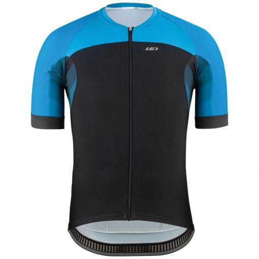 Louis Garneau 2020 Men's Elite M-2 Short Sleeve Cycling Jersey - Black/Blue - 1020963-20Q
