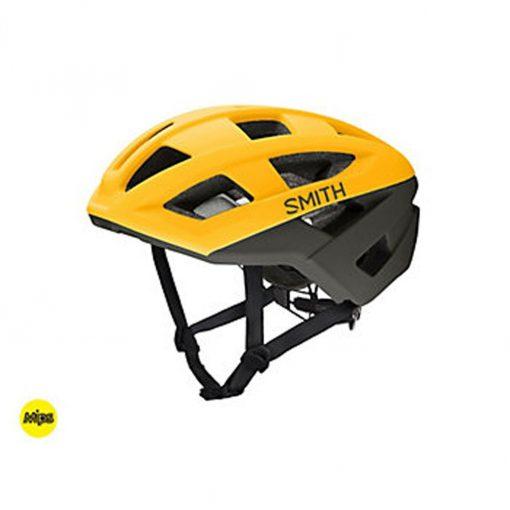 Smith Men's Portal MIPS Cycling Helmet - Matte Hornet/Gravy - E0072602U
