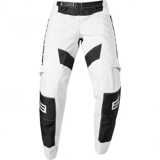 Fox Shift WHIT3 Label Archival Moto Pant - Black/White - 24744-018