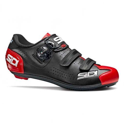 Sidi Men's Alba 2 Road Cycling Shoes - Black/Red - SRS-AL2-BKRD