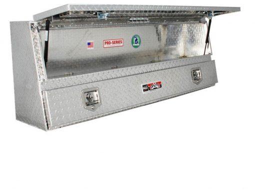 Westin Brute Contractor TopSider 72in w/ Doors - Aluminum