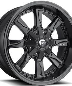 Fuel Matte Black Hydro Wheels
