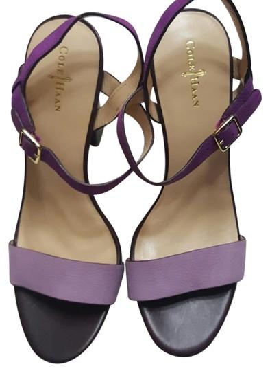 Cole Haan  Purple / Lavender Nike Air Minetta Sandals Formal Shoes