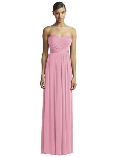Dusty Rose Jersey Jy503 Feminine Bridesmaid/Mob Dress