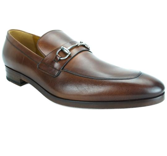 Gucci  Barn Horsebit W 353016 Men's Leather Loafer W/ Detail 11 Formal Shoes
