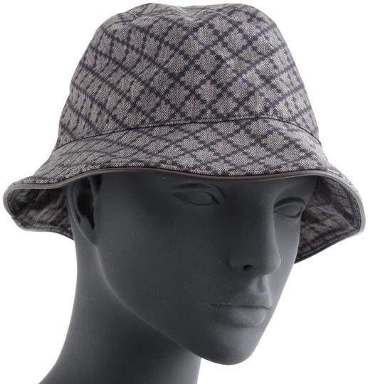 Gucci  Grey Bucket Canvas Hat