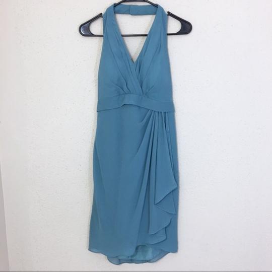 Jenny Yoo  Blue Traditional Bridesmaid/Mob Dress