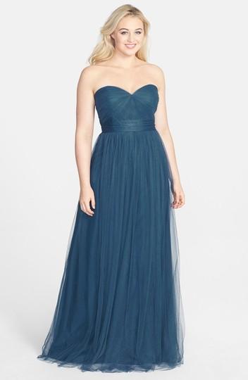 Jenny Yoo  Lapis Blue Tulle Annabelle Formal Bridesmaid/Mob Dress