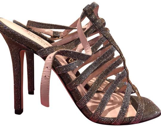 Kate Spade  Bronze Delila Too Lurex Platforms