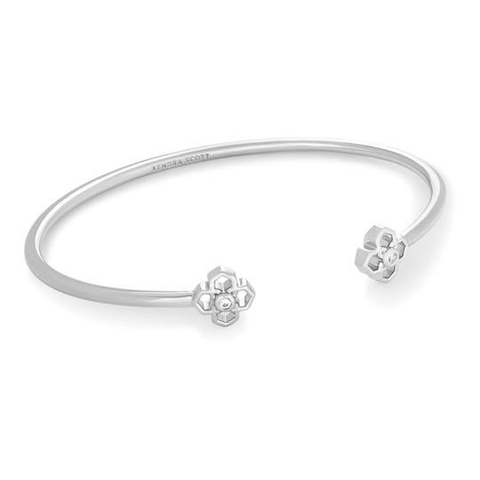 Kendra Scott  • Silver Rue Logo Cuff Bracelet