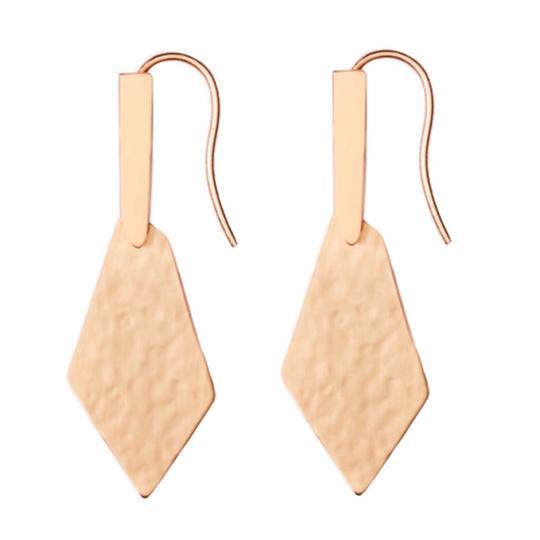 Kendra Scott  Rose Gold • Gianna Logo Earrings