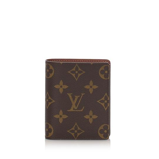 Louis Vuitton  Brown Monogram Magellan Wallet