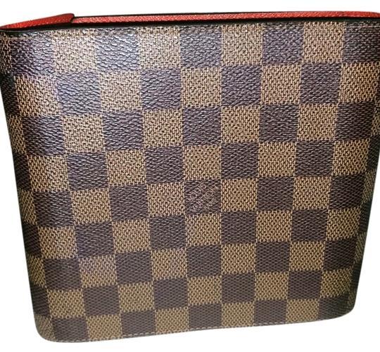 Louis Vuitton  Damier Ebene Cd/Dvd Case Tech Accessory