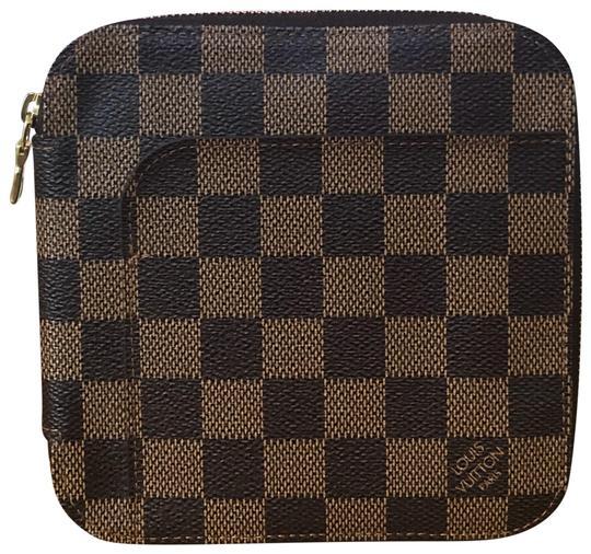 Louis Vuitton  Damier Ebene Olav Rare Travel Organizer (Mint Condition) Wallet