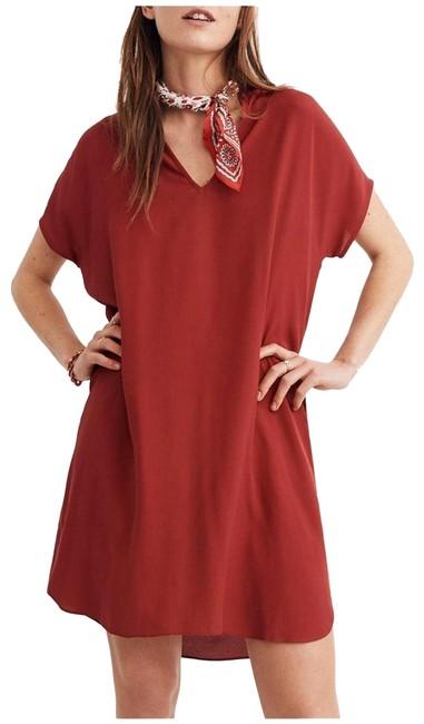 Madewell  Crimson Bicoastal Casual Dress