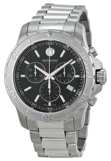 Movado  Silver 2600110 Series 800 Chronograph Men's Watch