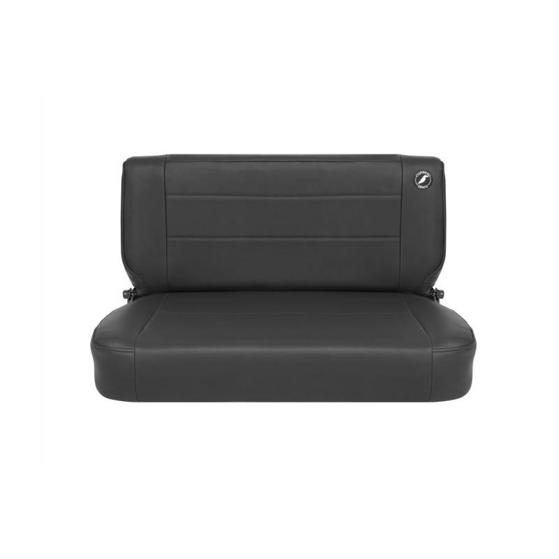CORBEAU SAFARI FOLD AND TUMBLE SEAT - BLACK VINYL