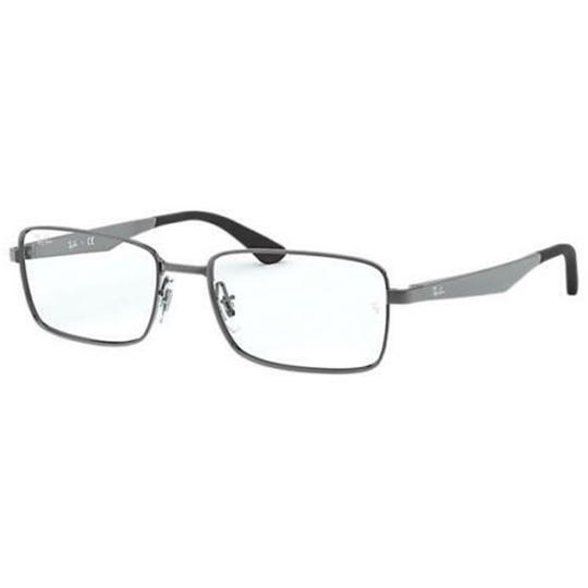 Ray-Ban  Gunmetal Frame & Demo Customisable Lens Rx6333 2502 54 Unisex Rectangular