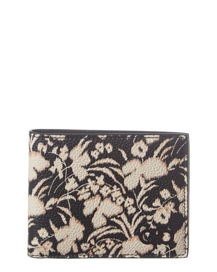 Salvatore Ferragamo  Black/Cream Gancini Leather Bifold Wallet