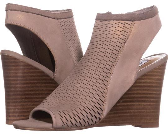 Steve Madden  Grey Winny Sandals 755 Wedges