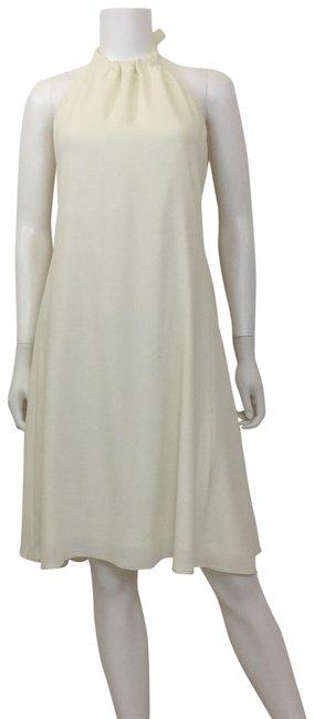 Theory  Ivory Halter Casual Dress