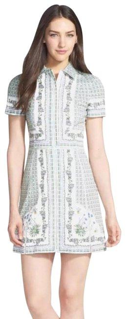 Tory Burch  Talia Floral Botanical Garden Party Shirtdress Casual Dress