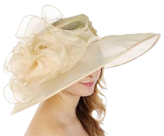 Vanilla New Dress Formal Church Hat
