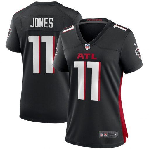 Women's Atlanta Falcons Julio Jones Nike Black Player Game Jersey